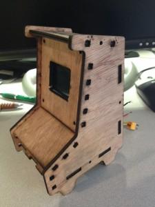 Tabletop Laser Cut Raspberry Pi Arcade Cabinet (prototype) - KLOV